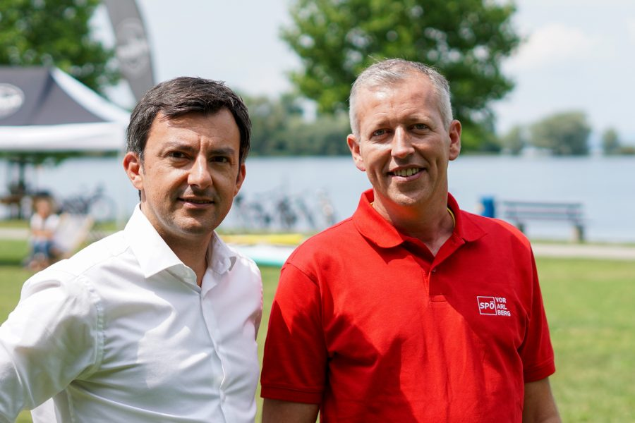 Martin Staudinger und Björn Riedmann.