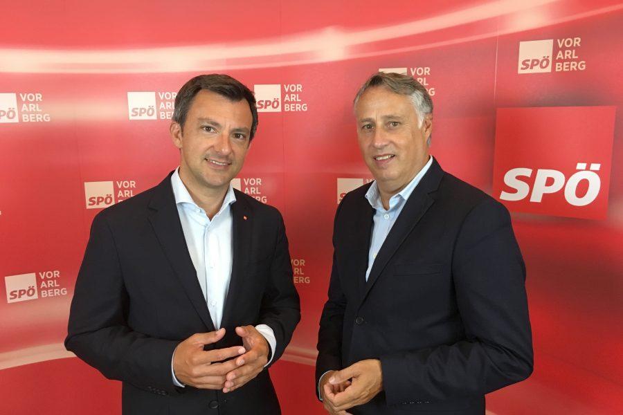 Martin Staudinger und Thomas Hopfner.