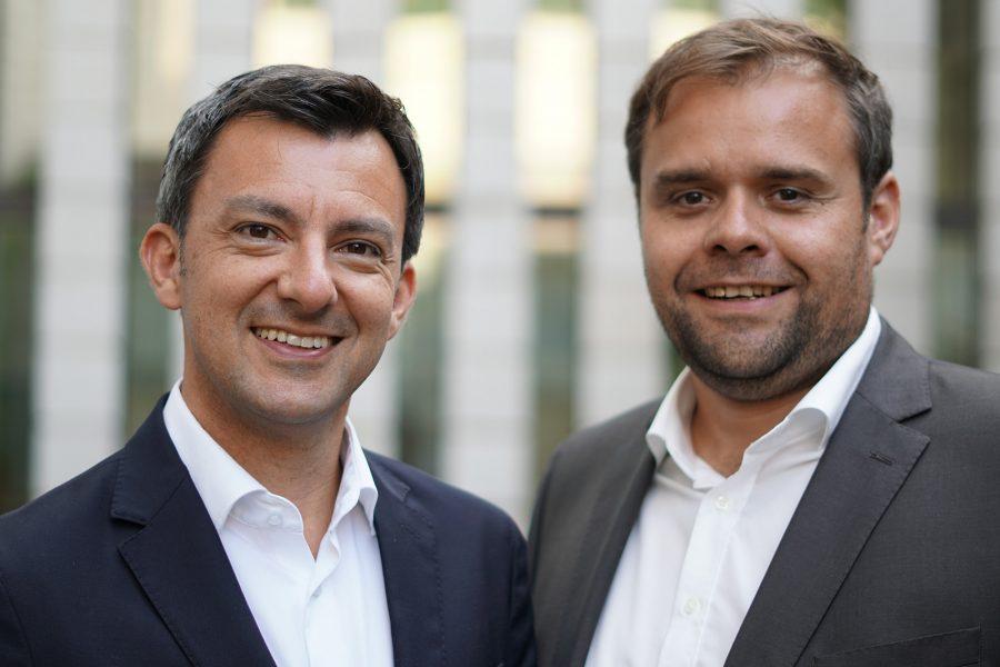 Martin Staudinger und Markus Fäßler.