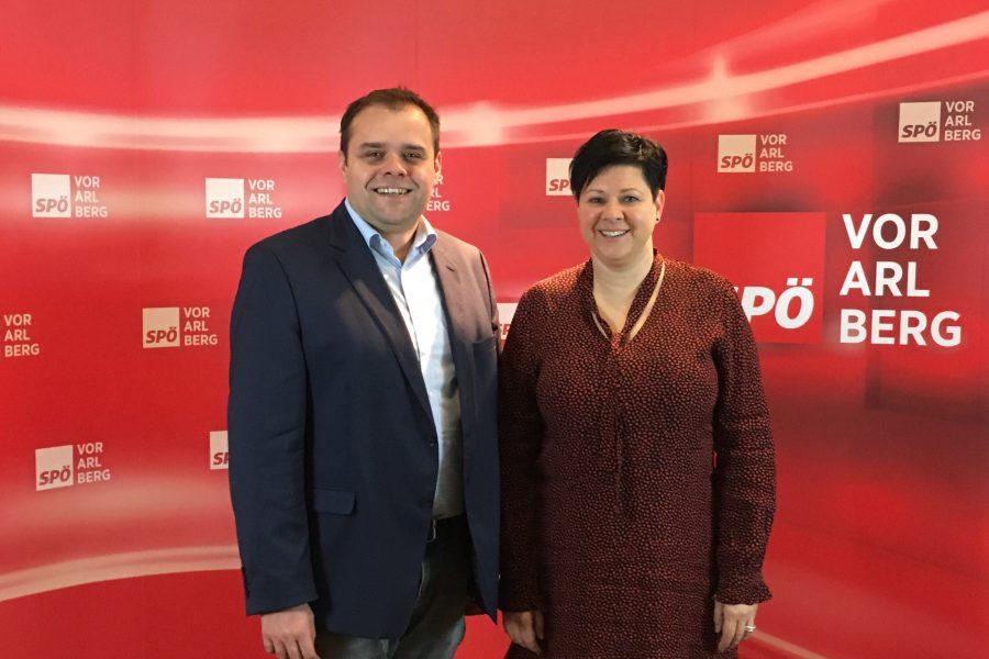 Markus Fäßler und Elke Zimmermann.