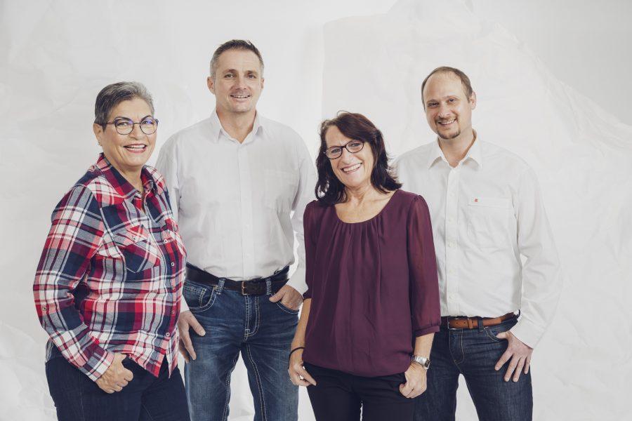 Eva Woinesich, Oliver Kitzke, Elfriede Bastiani, Daniel Marius-Roll sind engagiert für Hard