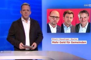 Michael Ritsch, Martin Staudinger und Georg Bucher